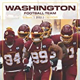 2022 Calendar: Washington Football Team Yearly Monthly 16-month Calendar 2022 8.5x8.5 with Large Grid for Planning, Scheduling, and Organizing