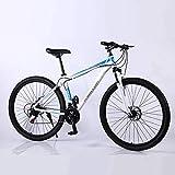COCNI Variable de playa al aire libre de la bici de 29 pulgadas de bicicletas de montaña for adultos Auto-velocidad de la bicicleta doble freno de disco de la absorción de choque fuera de carretera bi