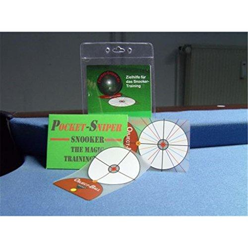 Pocket-Sniper Snooker - Trainingshilfe Zielhilfe