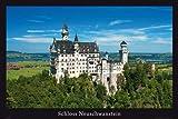 Schloss Neuschwanstein - Märchenschloss Architektur Poster