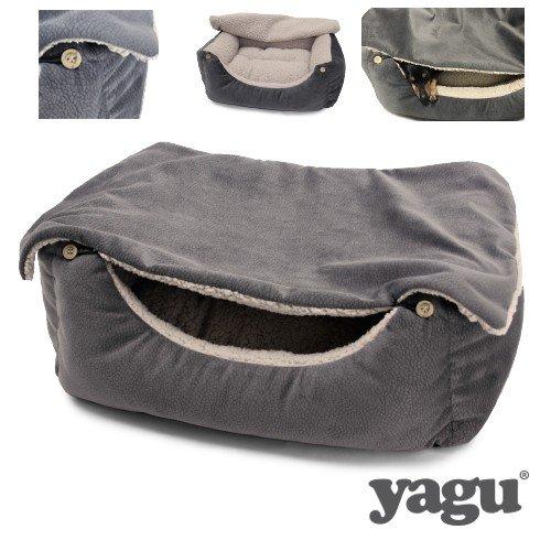 Yagu Cuna Cover Grey (T-2 55 x 46 x 20 CM)