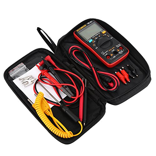 ANENG AN8009 Digitales Auto-Ranging-Multimeter 9999 True RMS AC/DC-Spannung zählen HFE Elektronisches Messgerät