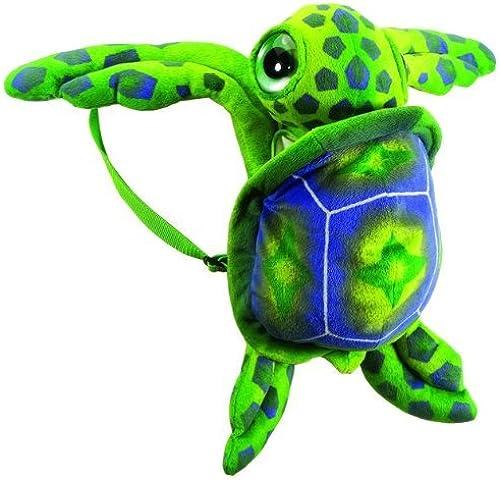 17 Big Eye Grün Sea Turtle Travel Backpack Buddies Stuffed Bookbag by Fiesta Toys by Fiesta Toys