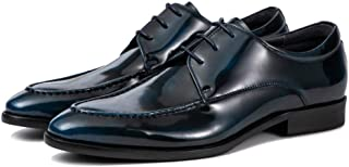 Fashion Handmade Oxford Shoes Formal Shoes (Color : Blue, Size : 39)