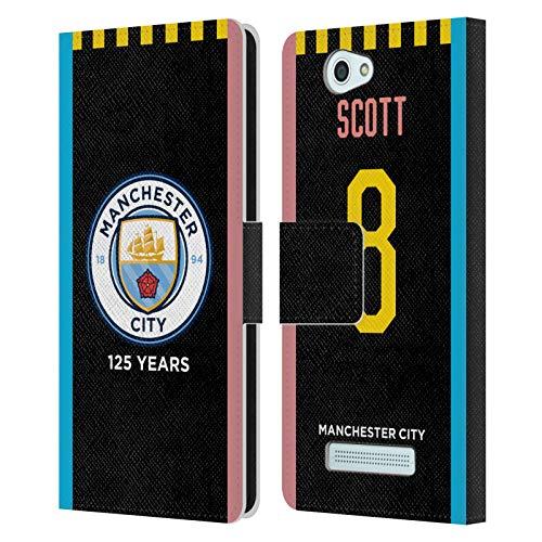 Head Case Designs Ufficiale Manchester City Man City FC Jill Scott 2019/20 Kit Fuori Casa delle Donne 1 Cover in Pelle a Portafoglio Compatibile con Wileyfox Spark/Plus
