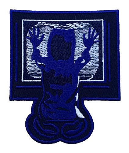 Poltergeist Logo Patch (9cm) DIY Nähen oder Bügeln bestickt auf Badge Aufnäher Horror Film Souvenir TV Portal Carol Anne Kostüm Retro