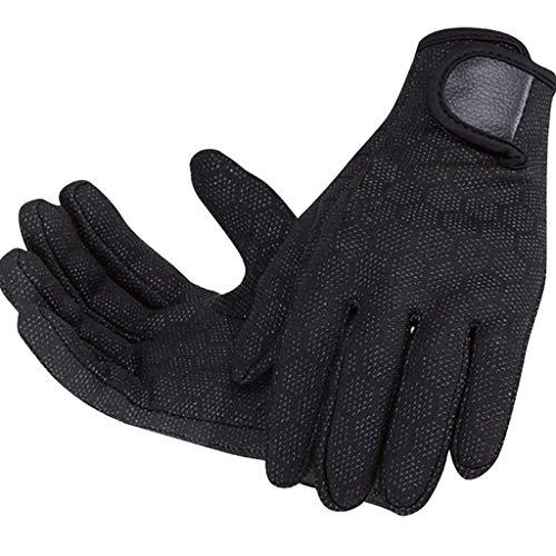 LIBINFAN Outdoor Swim Tauchhandschuhe Kratzfeste Anti-Rutsch-Verschleißpartikel Schnorcheln Warme Handschuhe Handschuhe