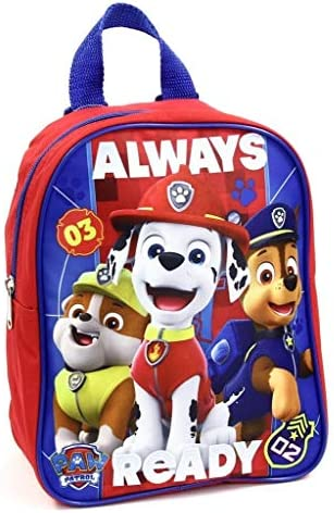 Group Ruz Nickelodeon Paw Patrol Boy s 10 Mini Backpack Red blue product image