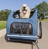 PetSafe Solvit HoundAbout Pet Bicycle Trailer for Dogs, Steel Frame,...