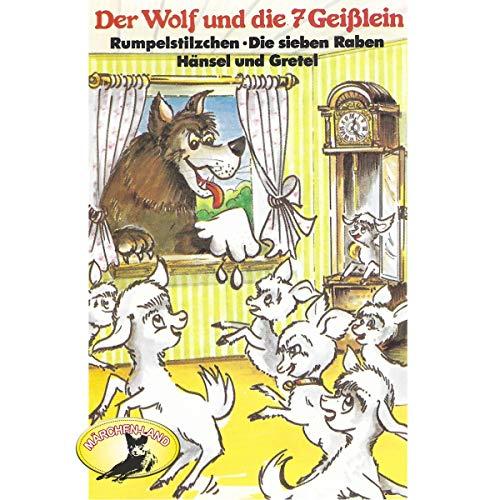 『Der Wolf und die sieben Geißlein und weitere Märchen』のカバーアート