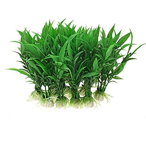 Fornateu Artificial Verde de la Alga Acuario Decoraci/ón Plantas Vivos Agua del Acuario de Plantas de pl/ástico