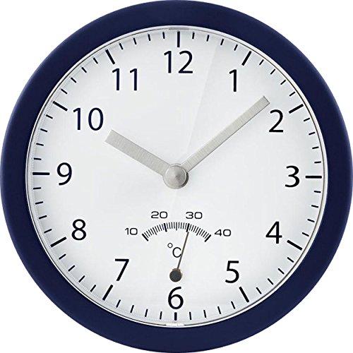 Tchibo TCM Uhr Wanduhr mit Saugnapf Badezimmeruhr Baduhr Badwanduhr Clock Bath
