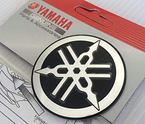 auto Coppia di adesivi con logo Yamaha paraurti cruscotto 10 cm per moto computer portatili