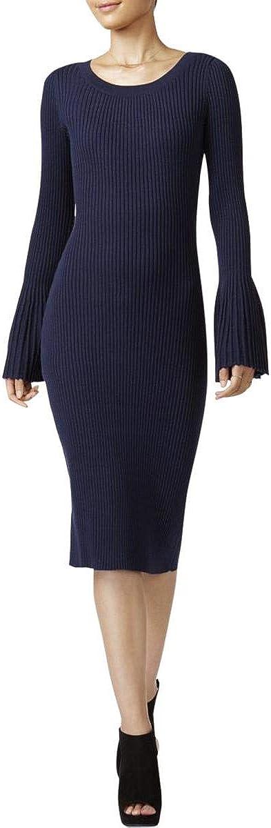 Bar III Womens Sweater Midi Dress