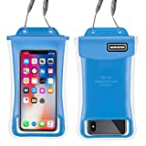 Waterproof Phone Pouch,2Pack Floating Gihery Universal Cellphone Waterproof Pouch Case IPX8 Certified Dry Bag Compatible with iPhone XsMax/Xs/Xr/X/8Plus/8/7Plus/7/6s/6 Samsung Galaxy S10/S10Plus/S9