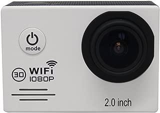 iCatch SJ7000 高画質 1080P防水 多機能スポーツカメラ 日本語対応 2.0インチ TFT 液晶モニター wifi付き HD動画対応 マリンスポーツやウインタースポーツに最適 バイクや自転車、カートや車に取り付け可能なコンパクトカメラ ホワイト