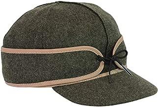 Stormy Kromer Mackinaw Cap - Winter Wool Hat with Earflaps