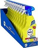 Napisan Spray Igienizzante Multisuperfici Potere Sgrassante, Confezione da 12