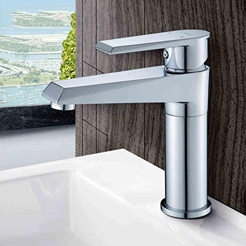 CQOZ Wasserhahn Alle Kupfer Wasserhahn Hot und kalt Wasserhahn knnen gedreht Werden Badezimmer Einloch Waschbecken unter Counter Waschbecken Wasserhahn