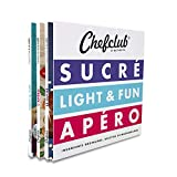 Chefclub Network : 3 volumes : Sucré ; Light & Fun ; Apéro