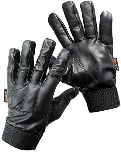 PRODEF® Quarzsand Handschuhe, Level-5 Schnittschutz, Leder (L)