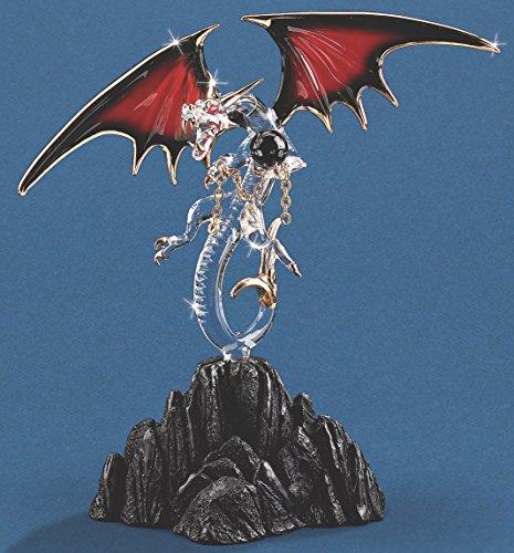 Glass Baron Black Magic Dragon Figurine