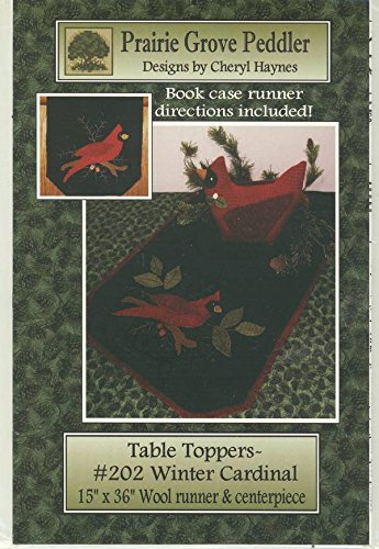Cardinal Wool Applique Pattern Patterns For You