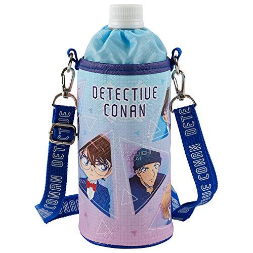 エスケイジャパン 名探偵コナン ペットボトルカバー ボトルケース 500m対応 トライアングル 柄 ブルー