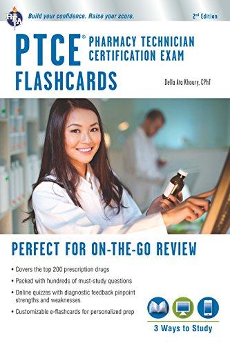 PTCE - Pharmacy Technician Certification Exam Flashcard Book + Online (Flash Card Books)