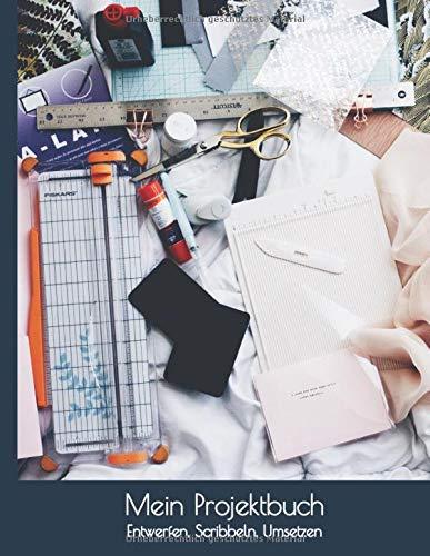 Mein Projektbuch: Entwerfen, Scribbeln, Umsetzen I Geschenke Selber Gestalten Zubehör I Weihnachtskarten Basteln Set I Scribbeln Lernen I Selbstgemachte Geschenkideen