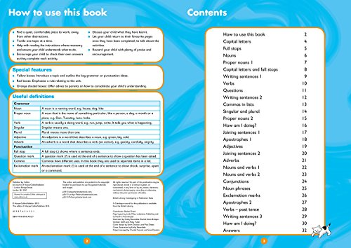 Grammar and Punctuation Ages 5-7: Ideal for home learning (Collins Easy Learning KS1)