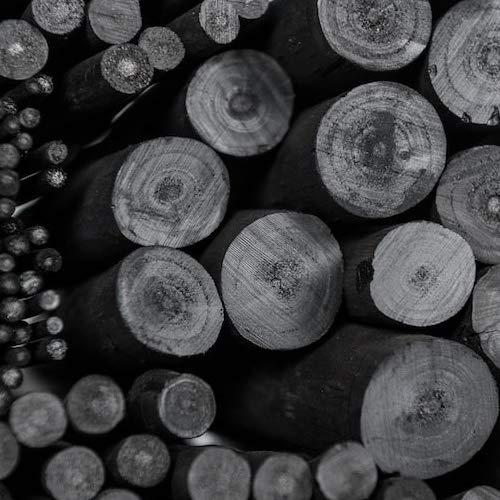 Coates 2-3 mm di/ámetro carboncillo de Sauce Negro 25 Unidades