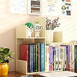 LiChaoWen Bücherregal, Schreibtisch-Organizer, Kinder-Bücherregal, Bürobedarf, Schreibtisch-Organizer für jeden Schreibtisch, Kommode, Arbeitsplatte (Farbe: Beige, Größe: 45 x 17 x 38 cm)