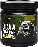 BCAA 400g Citron – 30 portions d'acides aminés en poudre pour un rapport de 2:1:1-9,8 g de BCAA par portion – complément alimentaire pour la forme physique - faible en sucre, bonne solubilité – nu3