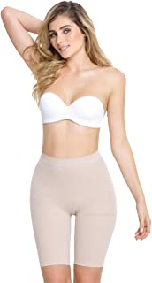 Cocoon Shapers Dual Fusion Breast Enhance Dress Slip Faja Shapewear Braless COC397 Small, Nude
