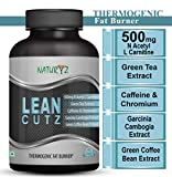 Naturyz LEAN CUTZ Thermogenic Fat Burner with 500mg Acetyl L Carnitine, Green tea