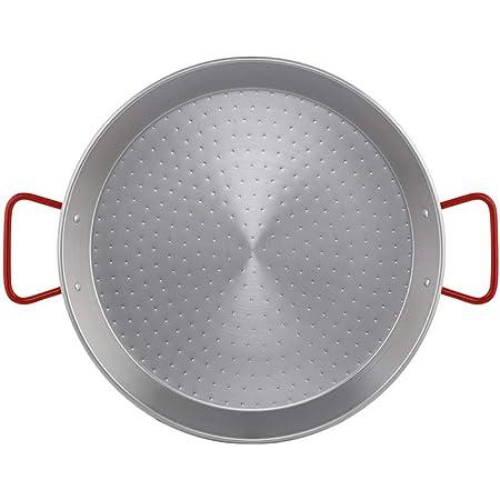 Metaltex - Paellera Acero Pulido 9 Raciones 40 cm