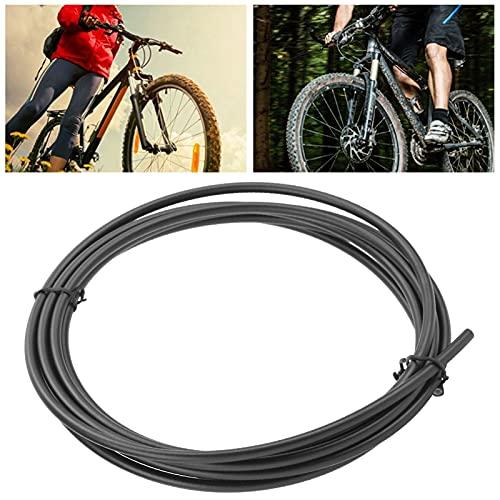 Fahrrad-Bremsschlauch-Kit, Hitzebeständigkeit Scheibenbremsen-Ölrohr mit hohem Sprengkoeffizienten Hoher Sicherheitsfaktor für den Einbau und die Reparatur von mittleren und unteren
