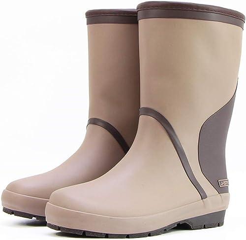 CAI&HONG-Umbrella GHH botas de Lluvia cálidas, Zapaños acuáticos, Zapaños de Goma, Antideslizantes.