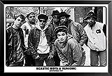 Buyartforless Poster, gerahmt, Motiv Beastie Boys und