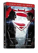 BATMAN V SUPERMAN - L'AUBE DE LA JUSTICE - Version Longue - Edition limitée Steelbook - Blu-Ray 3D + 2D + DVD - DC COMICS