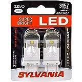SYLVANIA ZEVO 3157 White LED Bulb, (Contains 2 Bulbs)