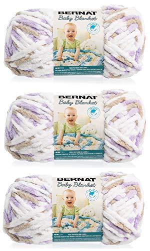 Bernat Baby Blanket Yarn (3-Pack) Little Lilac Dove 161103-3113
