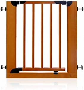 WANNA ME Baby Playpen Solid wood child safety door fence stairway fence baby pet isolation door fence baby door guardrail Strong And Durable Made From Non-To