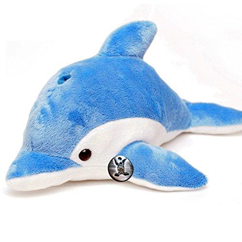 Delfin DELGO Delphin Tümmler Plüschtier 33 cm Plüschdelfin von kuscheltiere.biz