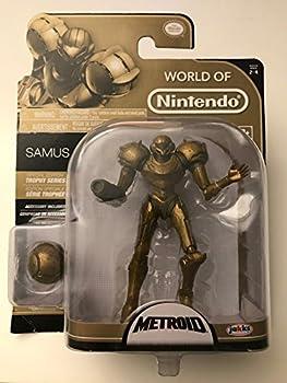 World of Nintendo Series 2-4 Metroid Samus  Trophy Series  Action Figure 4 Inches