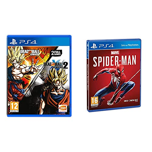 Dragon Ball Xenoverse + Dragon Ball Xenoverse 2 Ps4- Playstation 4 & Marvel's Spider-Man - PlayStation 4