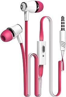 YFINE Auriculares intrauditivos con Cable Auriculares estéreo para Juegos Auriculares con Control y micrófono en línea par...