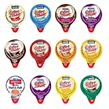 Coffee-Mate Mini Liquid Coffee Creamers - 12 Flavor Assortment (36 Count with varied amounts of each flavor)