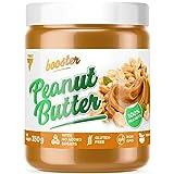 Trec Nutrition Booster Peanut Butter Paquete de 1 x 350g - Mantequilla de Maní - Vegano - Maní Tostado - Sin Aditivos y Azúcar Agregado - Sin OMG y Sin gluten